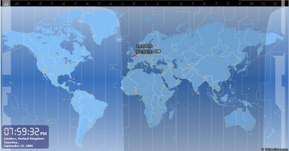 World time zones map online flash based world time converters 24 time zones time zone time lookup world time map clock gumiabroncs Images