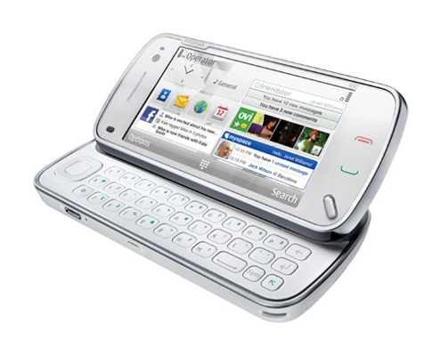 Nokia N 97 qwerty keyboard
