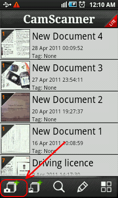Cam Scanner Home - Scan documents using android