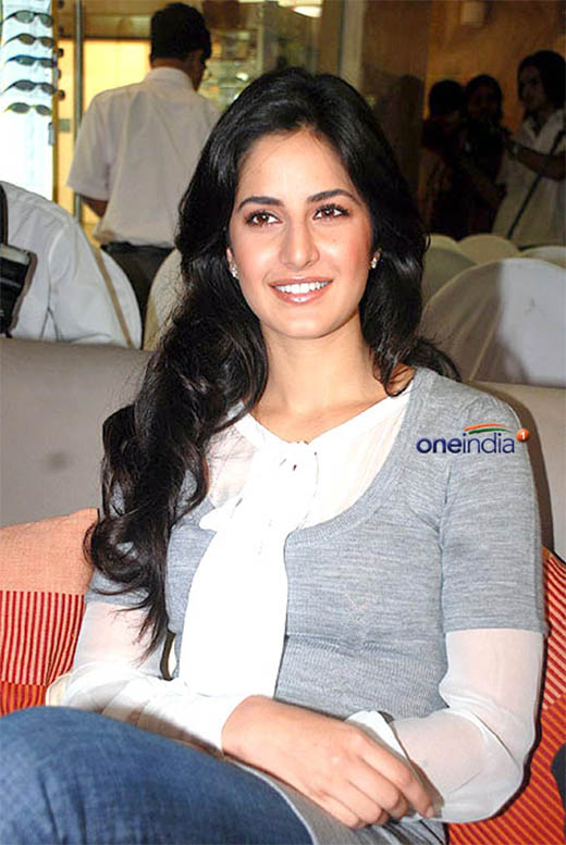 Katrina Kaif in a public place without any makeup