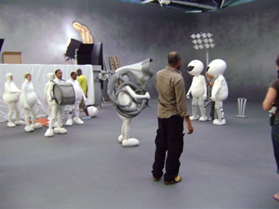 Making of Vodafone Zoozoo Ads