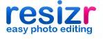 Resizr photo editing