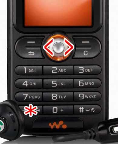 Sony Ericsson Keypad
