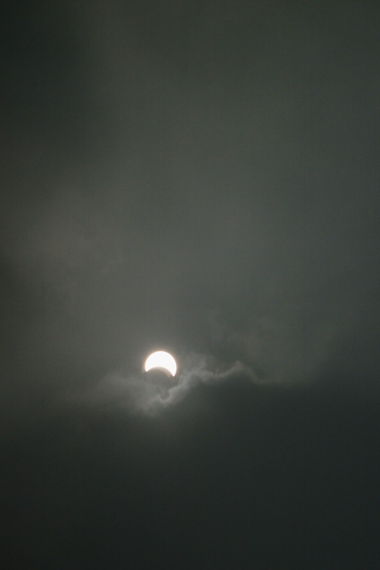 Solar eclipse as seen on Beijing, China