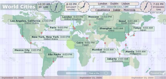 map of time zones in usa. 2011 map of time zones in
