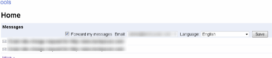 webmaster email notifications